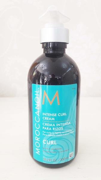 Crema para peinar cabellos rizados Moroccanoil 300 ml $19.900