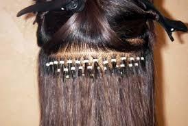 Extensiones de pelo. Mechirtas una a una con microring desde $3.000