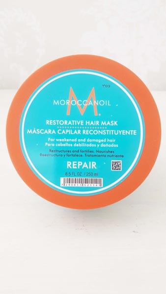 Máscara reparadora cabellos débiles y dañados Moroccanoil 250 ml. $25900