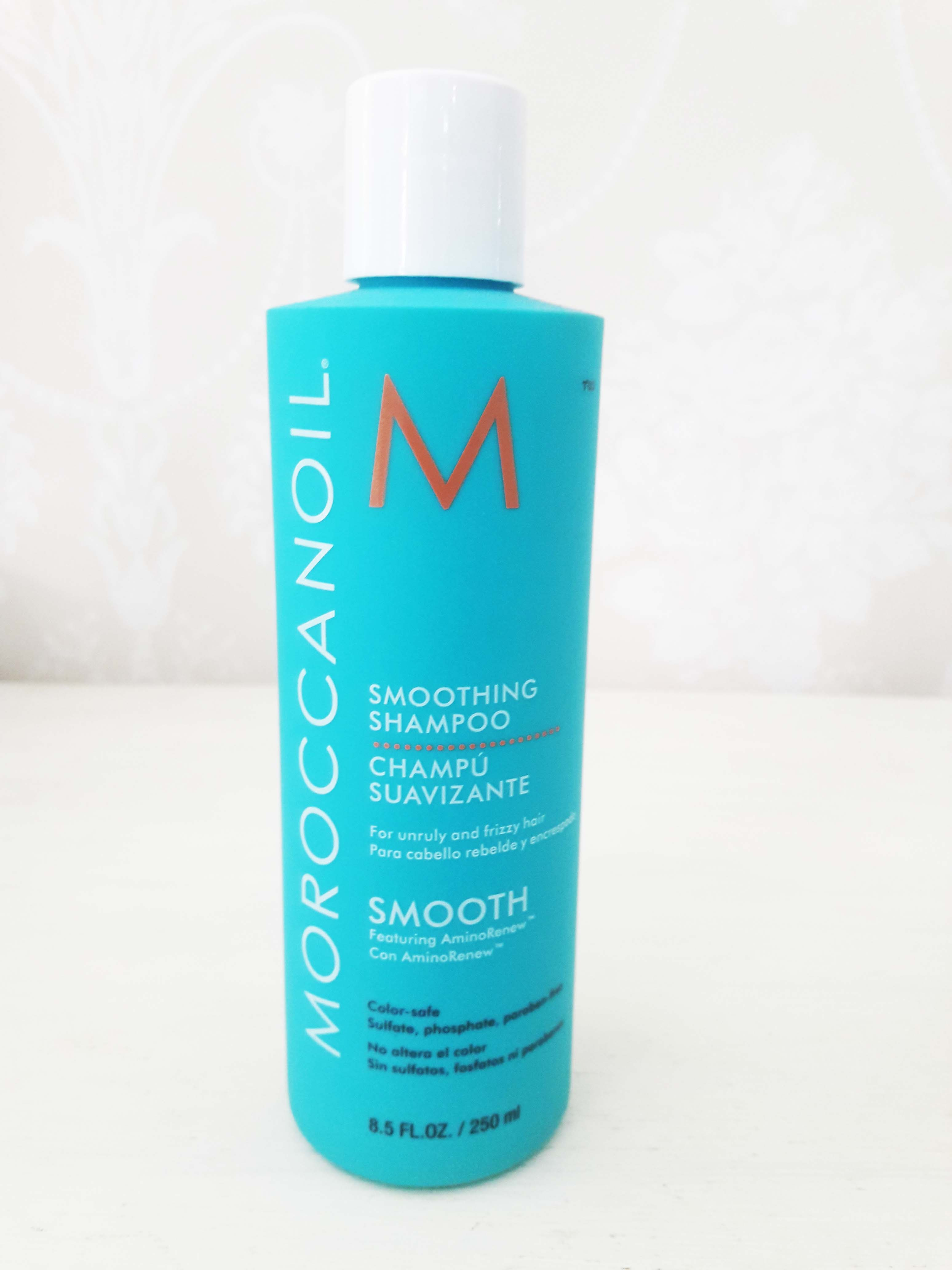 Shampoo Suavizante cabellos crespos y rebeldes Moroccanoil 250 ml. $17.900