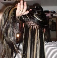 Extensiones de pelo. Mechitas una a una amarradas desde $3500